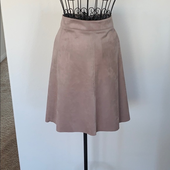 H&M Dresses & Skirts - H&M faux suede skirt, size 12